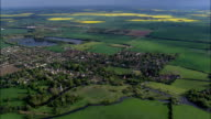 southwell - Aerial View - England,  Nottinghamshire,  Newark and Sherwood District,  United Kingdom video