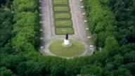 Soviet War Memorial  - Aerial View - Berlin,  Berlin,  Stadt,  Germany video