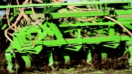 Sowing close up video
