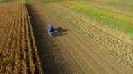 AERIAL Sowing With The Seed Drill video