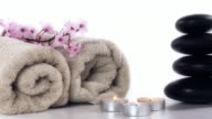HD DOLLY: Spa And Wellness Still Life video