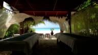 spa at beach video