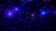 Space background video