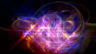 space galaxy abstract video