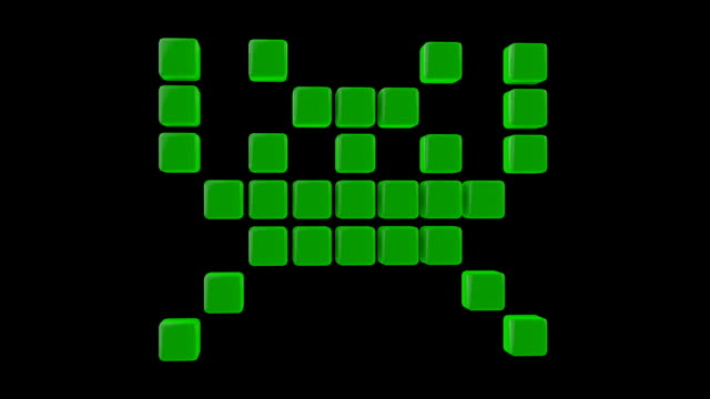 Space Invader Sprites video