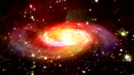 space red galaxy video