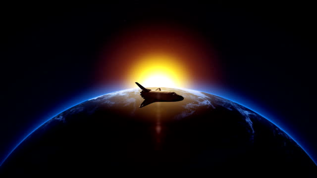 Space Shuttle Animation video