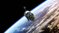 Space Station deploys solar panels video