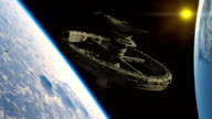Space station, ramjet video