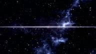 Space warp, futuristic timetravel to earth video