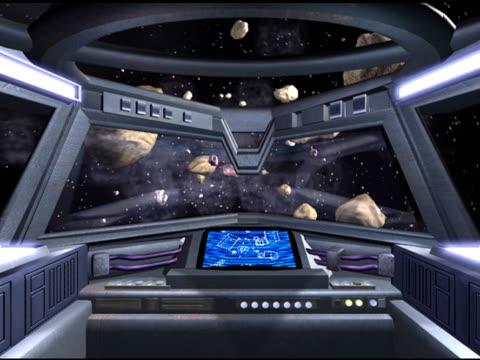 Spacecraft Cockpit video