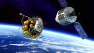 Spacecraft Docking video