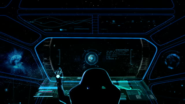 Spaceship Cockpit video