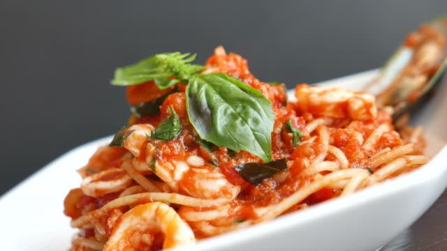HD Spaghetti Seafood video