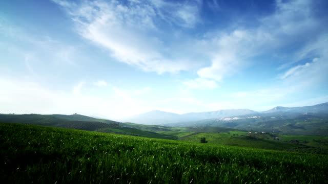 Spain landscape video