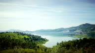 Spain morning landscape video