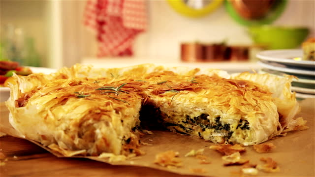 Spanakopita video