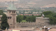 Spanish Castle Walls And Medieval Architecture video