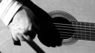 Spanish guitar player video