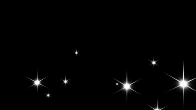 Sparkle effect – seamless loop, alpha video