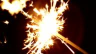 Sparkler - HD Loop video