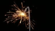 Sparkler Number One Close Up HD (2014) video