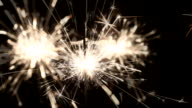 sparklers video