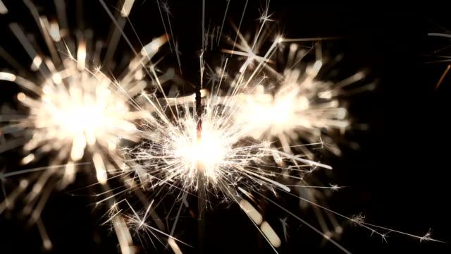sparklers video