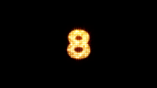 Sparkling Countdown HD video