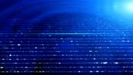 Sparkling stripes blue background video