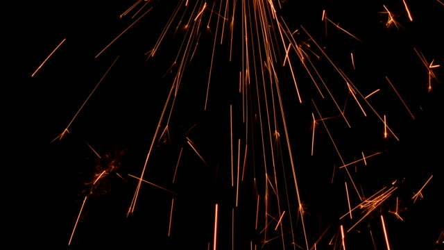 Sparks Falling video