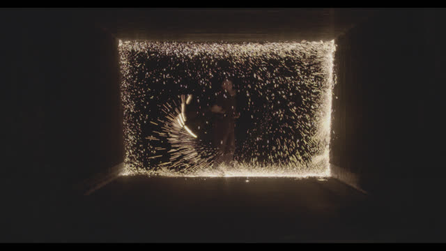 Sparks in motion video