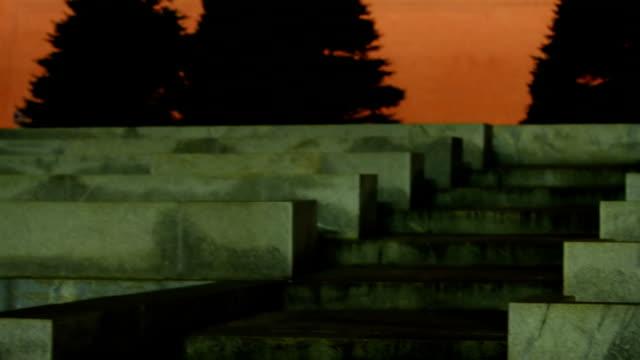 Spasskaya Tower and Mausoleum at night video