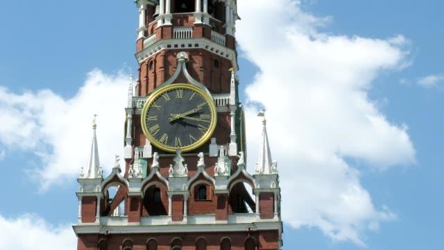 Spasskaya Tower of Moscow Kremlin video