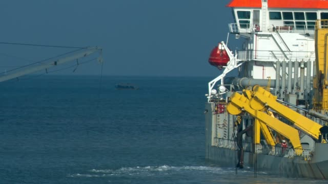 Special Purpose Offshore Vessel At Work video