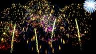 Spectacular Fireworks. Loop video