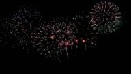 Spectacular Fireworks video