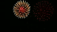 Spectacular Fireworks with Audio video