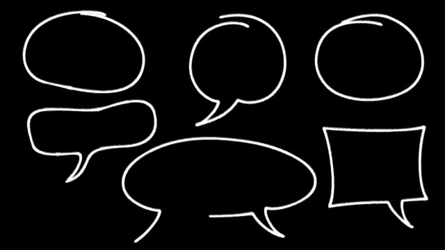 Speech Bubbles video