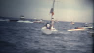 (Super 8 Vintage) Speed Boat Racing Competition video