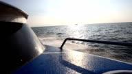 speed boat run on the Andaman sea video