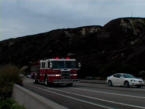 Speeding Firetruck video