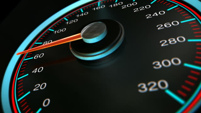 speedometer accelerate pan video