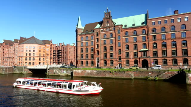 Speicherstadt in Hamburg video