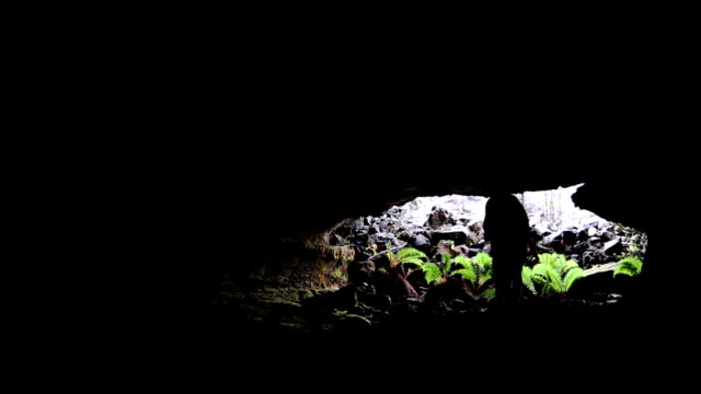 Spelunking in Lava Tube video