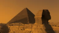 Sphinx and the Great Pyramid video