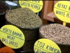 Spices in Turkish Egyptian Market video