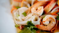 Spicy seafood,Thai Seafood Salad Spices video