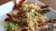 spicy shrimp grilled with garlic video