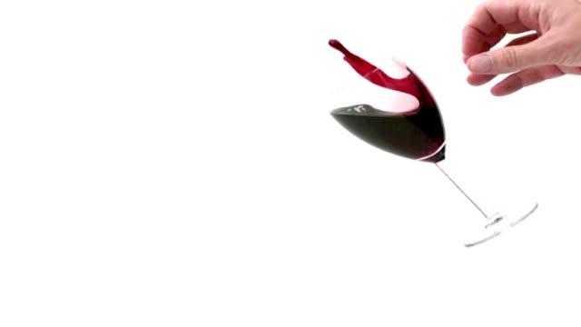 Spilling Wine Slow Motion video